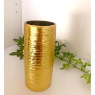 シンプル金花瓶