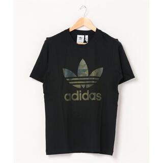 adidas - 【新品未使用】アディダスオリジナルス ビッグロゴ  カモフラ Tシャツ