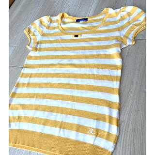 BURBERRY BLUE LABEL - バーバリー ブルーレーベル 半袖シャツ