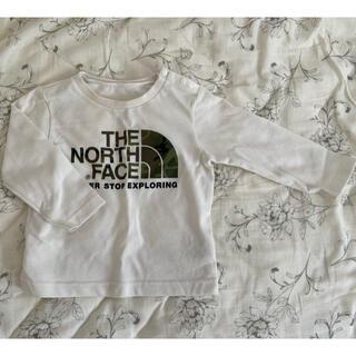 ザノースフェイス(THE NORTH FACE)のTHE NORTH FACE 長袖迷彩ロゴTシャツ 80cm(Tシャツ)