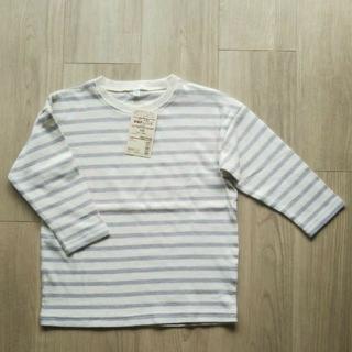 ムジルシリョウヒン(MUJI (無印良品))の【新品】シャツ カットソー 100 無印良品(Tシャツ/カットソー)