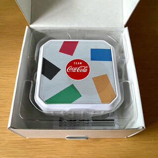 コカコーラ(コカ・コーラ)のコカコーラ Coke On  コカコーラオリジナル 防水スピーカー ランダム柄(ノベルティグッズ)