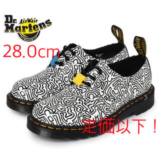 Dr.Martens - Dr.Martens Keith haring 3ホール 28cm 定価以下!