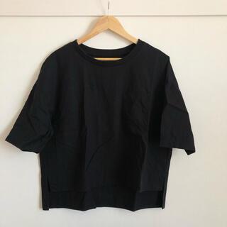 ムジルシリョウヒン(MUJI (無印良品))の【MUJI Labo】無印良品 オーガニックコットン トップス (Tシャツ(半袖/袖なし))