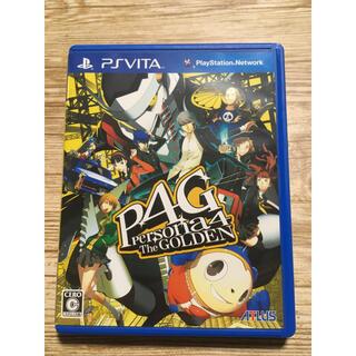 PlayStation Vita - ペルソナ4 ザ・ゴールデン PSvita版 美品