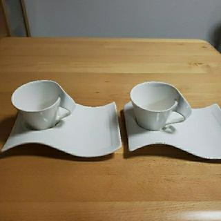 ビレロイアンドボッホ(ビレロイ&ボッホ)のvilleroy & Boch(ビレロイ&ボッホ) マグカップ ニューウェイブ(グラス/カップ)