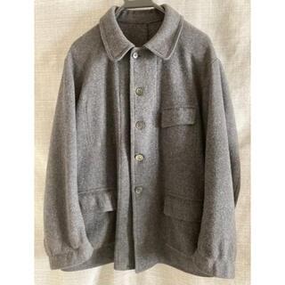 フランス パスカル製 ファーマーズジャケット グレー