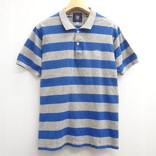 アベイシングエイプ(A BATHING APE)のAPE エイプ 半袖 ボーダー ポロシャツ 半袖シャツ(ポロシャツ)