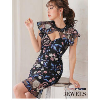 JEWELS - ジュエルズ Jewels キャバドレス ブラック