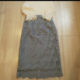 ミッシュマッシュ(MISCH MASCH)の新品 レースタイトスカート(ひざ丈スカート)