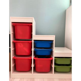 IKEA - IKEA トロファスト Box &蓋付き