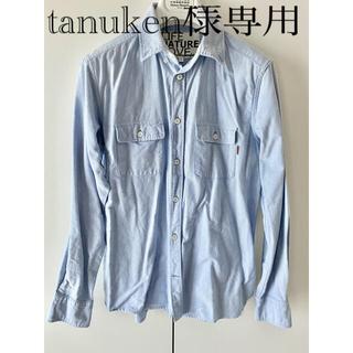 HOLLYWOOD RANCH MARKET - 【値下げ¥4300→¥3800】FREE CITY  シャンブレーシャツ