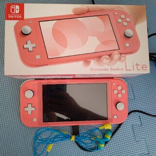 Nintendo Switch - Nintendo Switch Liteコーラル 美品