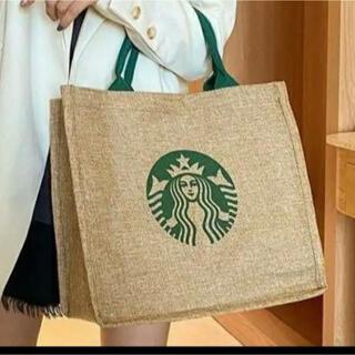 Starbucks Coffee - スターバックス スタバ  トートバッグ ジュート STARBUCKS   a17