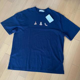 MAISON KITSUNE' - 【MAISON KITSUNE】 YOGA FOX PRINT Tシャツ
