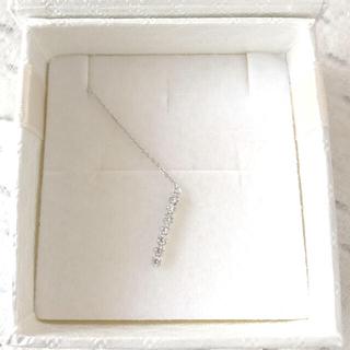 ジュエリーツツミ(JEWELRY TSUTSUMI)のPT900 天然ダイアモンド石 ピアス アメリカンタイプ(ピアス)