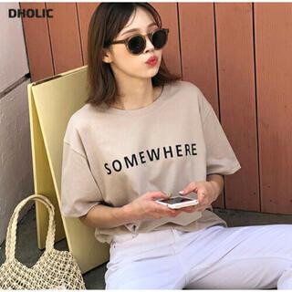 dholic - DHOLIC ディーホリック  ロゴ Tシャツ