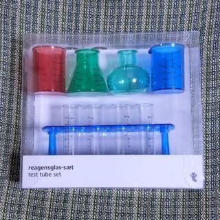 フライングタイガーコペンハーゲン(Flying Tiger Copenhagen)の【新品】試験管&ビーカーセット フライングタイガー(知育玩具)