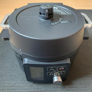 アイリスオーヤマ - アイリスオーヤマ 電気圧力鍋2.2L  KPC-MA2 ブラック【美品】