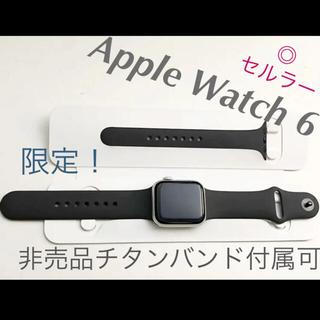 Apple Watch - 美品 Apple Watch6 GPS Cellular 40mm silver