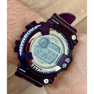 G-SHOCK - G-shock DW-8201WC-9T フロッグマン 紫 超美品