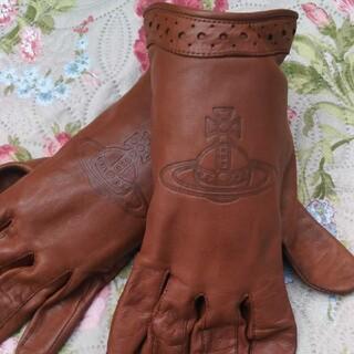 ヴィヴィアンウエストウッド(Vivienne Westwood)の【ヴィヴィアンウエストウッド】レザー 手袋 本革(手袋)