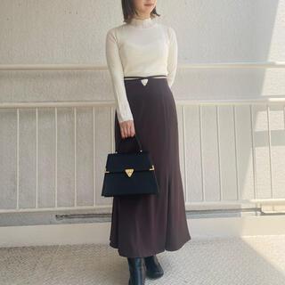 リリーブラウン(Lily Brown)のリリーブラウン ウエストデザインマーメイドスカート(ロングスカート)