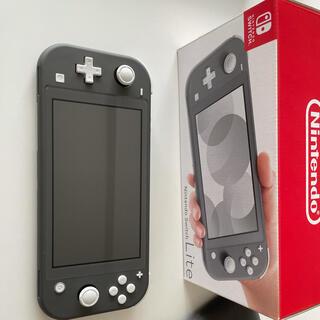 Nintendo Switch - 美品Nintendo Switch Liteグレー