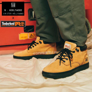 エヌハリウッド(N.HOOLYWOOD)の新品 N.HOOLYWOOD × Timberland PRO® チャッカブーツ(ブーツ)
