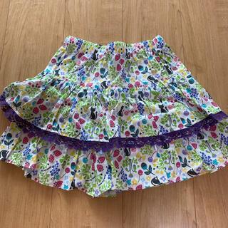 ANNA SUI mini - ちぃ様専用です。アナスイミニ 猫柄キュロットスカート 140cm
