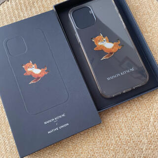 MAISON KITSUNE' - MAISON KITSUNÉ(メゾンキツネ)iPhone12 スマホケース