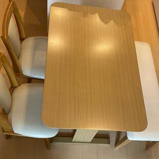 ニトリ - ニトリ ダイニングテーブル チェア(お引き取りも可能)