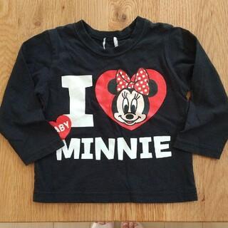 Disney - ディズニーベビーミニー  長袖Tシャツ  90  美品