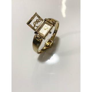 サンローラン(Saint Laurent)の【限定品 入手困難】イヴサンローラン 40周年ゴールド腕時計 ブレスレット(腕時計)