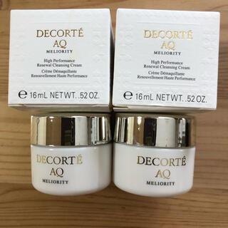 COSME DECORTE - コスメデコルテAQ ミリオリティ リペアクレンジングクリームn