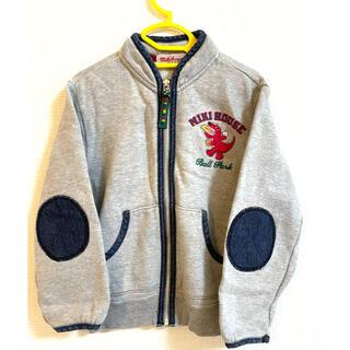 ミキハウス(mikihouse)のパーカー 刺繍 ミキハウス(ジャケット/上着)
