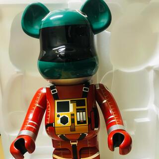 Berbrick宇宙人Space suit green helmet-orang