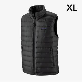 パタゴニア(patagonia)のパタゴニア メンズ・ダウン・セーター・ベスト XL BLACK(ダウンベスト)