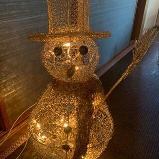 Francfranc - GUMP'S クリスマスオーナメント 電飾 雪だるま