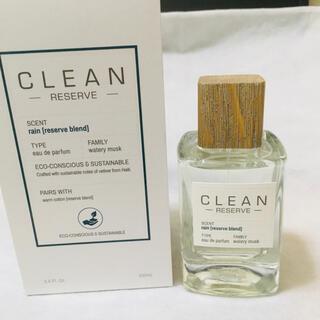 クリーン(CLEAN)の新品 クリーン リザーブ  レイン 100ml 香水 正規品 オードパルファム(ユニセックス)