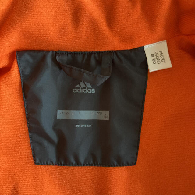 adidas(アディダス)のアディダス ウィンドブレーカー 上下 セットアップ 160センチ スポーツ/アウトドアのサッカー/フットサル(ウェア)の商品写真