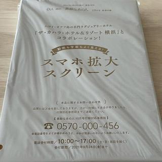 タカラジマシャ(宝島社)の素敵なあの人 10月号付録 スマホ拡大スクリーン(その他)