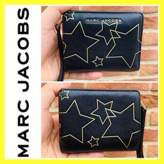 MARC JACOBS - 星柄×本革レザー■大丸購入■MARC JACOBS マークジェイコブス 財布