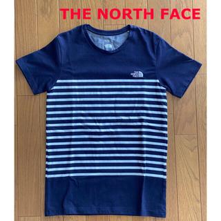 THE NORTH FACE - 【ザ・ノースフェイス】レディース ショートスリーブパネルボーダーティー(M)