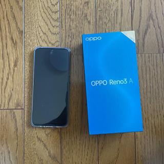オッポ(OPPO)のoppo reno3A SIMフリー 128GB(スマートフォン本体)