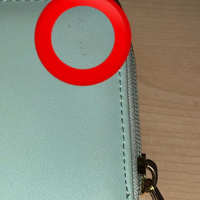 WEGO(ウィゴー)のWEGO ミントグリーン 長財布 レディースのファッション小物(財布)の商品写真