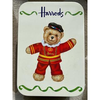 Harrods - ハロッズ、クッキー缶