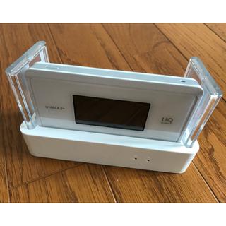 NEC - WX06 クレードル 本体セット  UQ WiMAX2+