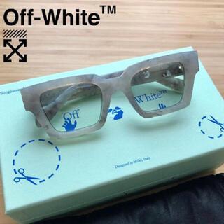 OFF-WHITE - off-white オフホワイト  スクエアフレーム サングラス