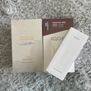IQOS - iQOS limited edition frosted red